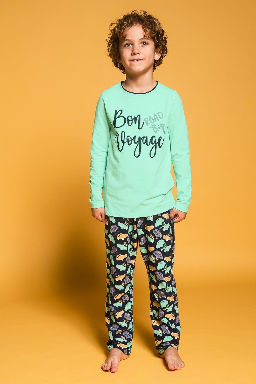 Pijama baieti Bon Voyage de la Charlie Choe