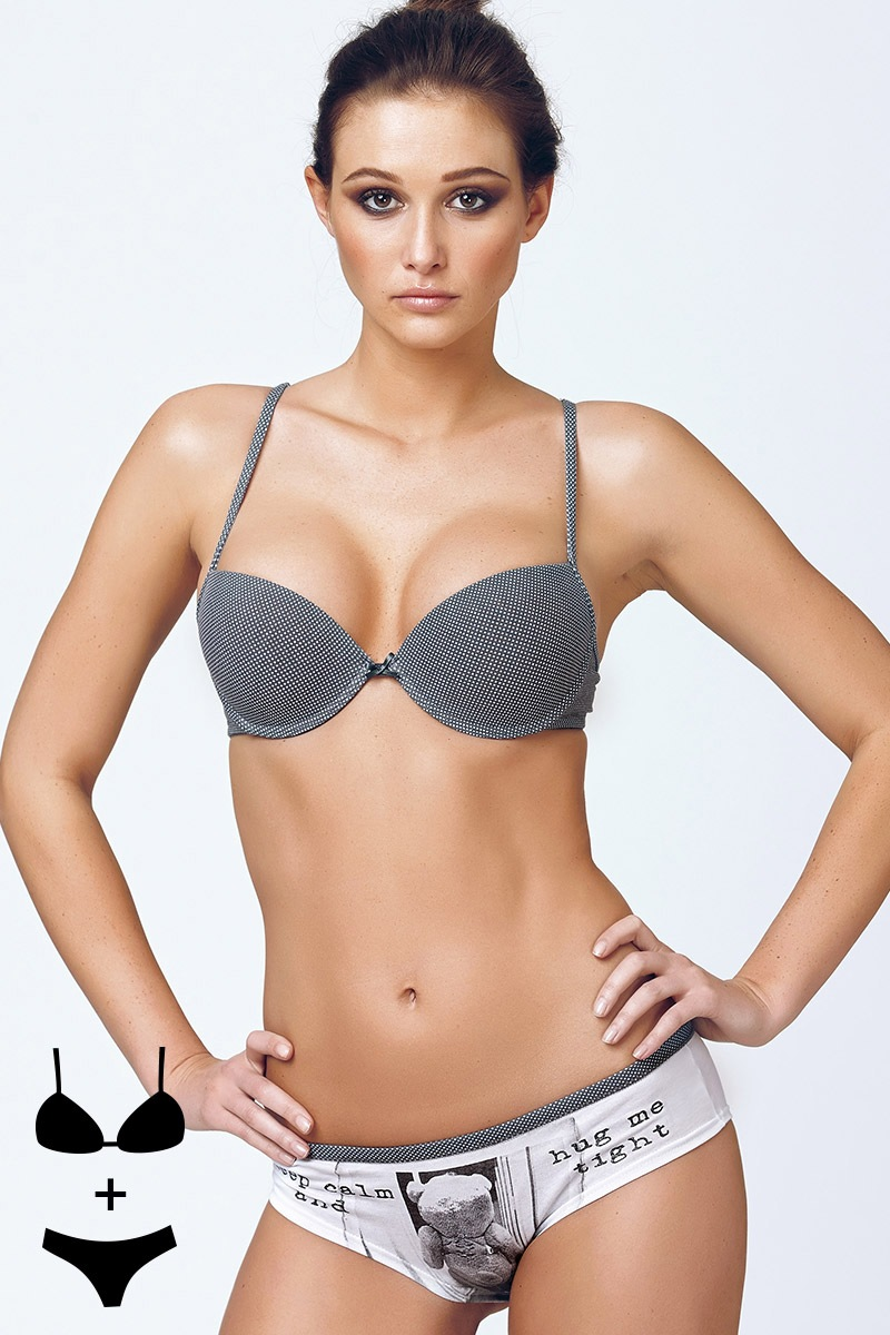 Set sutien Giulia2 cu efect Push-Up si chilot