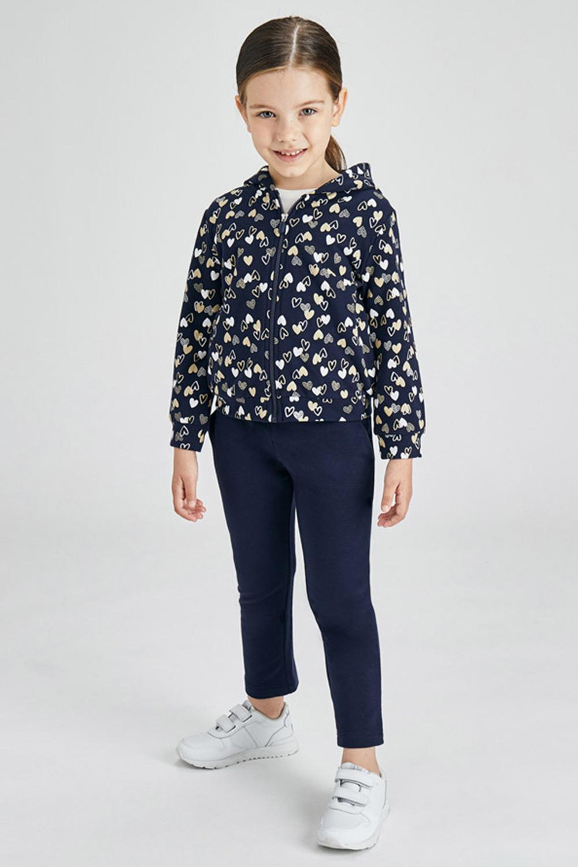 Set pentru fetițe Mayoral Hearts bluză și pantaloni