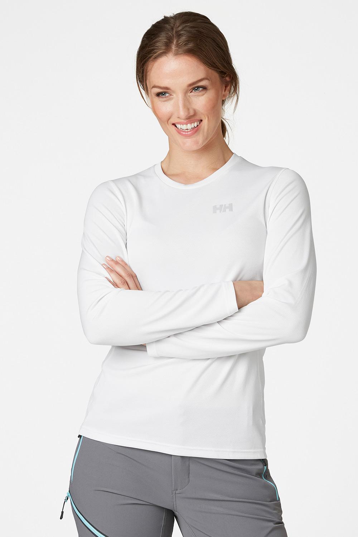 Tricou functional alb pentru femei Helly Hansen Lifa Active