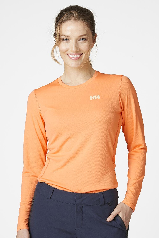 Bluza orange cu maneca lunga Helly Hansen