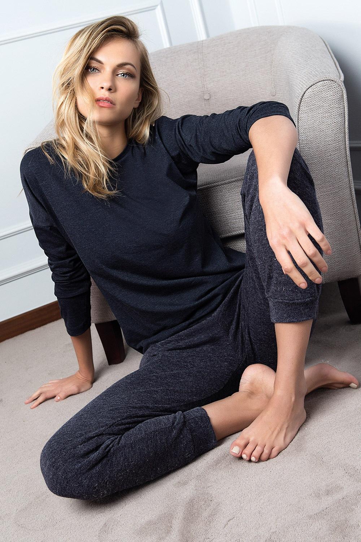 Pijama dama Pepe albastru
