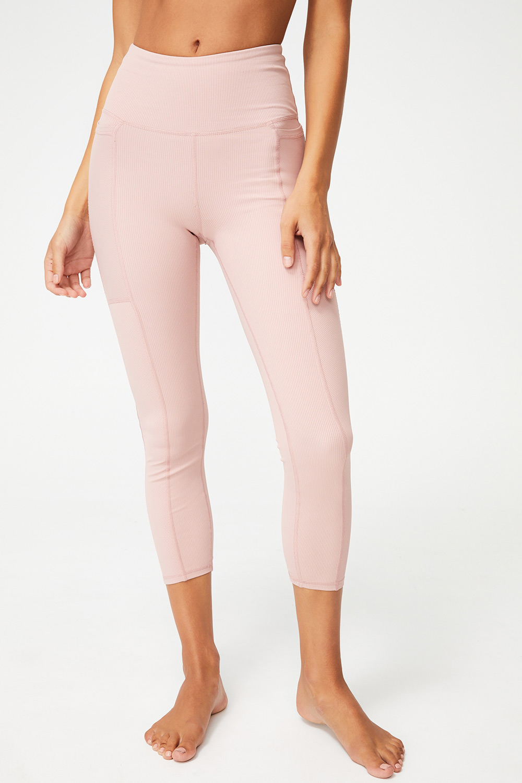 Colant sport Rib Pocket roz