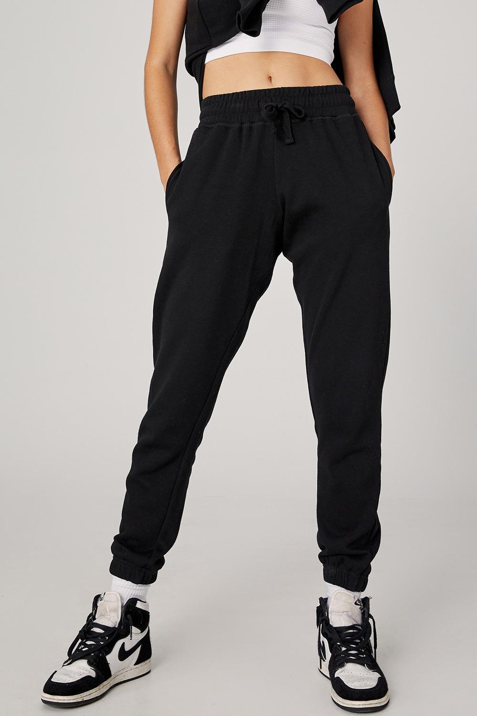 Pantalon de trening Gym negru