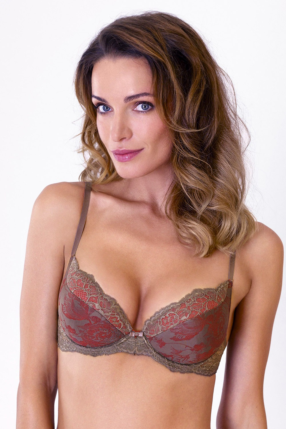 Sutien Misterious Rose Push-Up