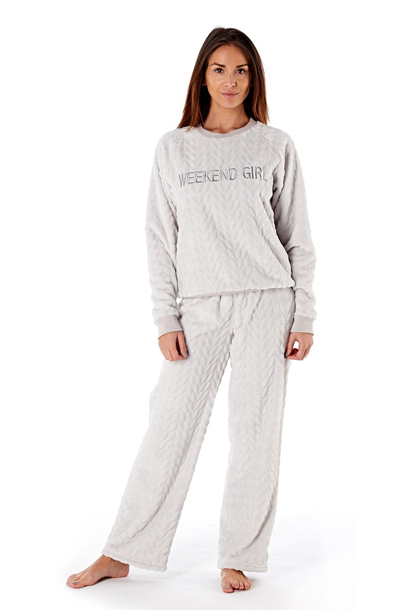 Pijama dama Weekend Girl Grey