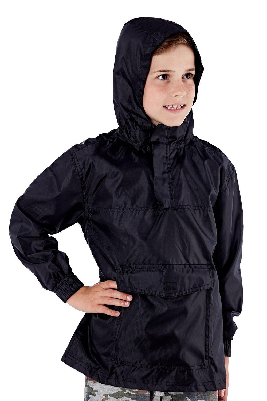 Jacheta copii neagra pliabila ProClimalite, material impermeabil de la ProClimate