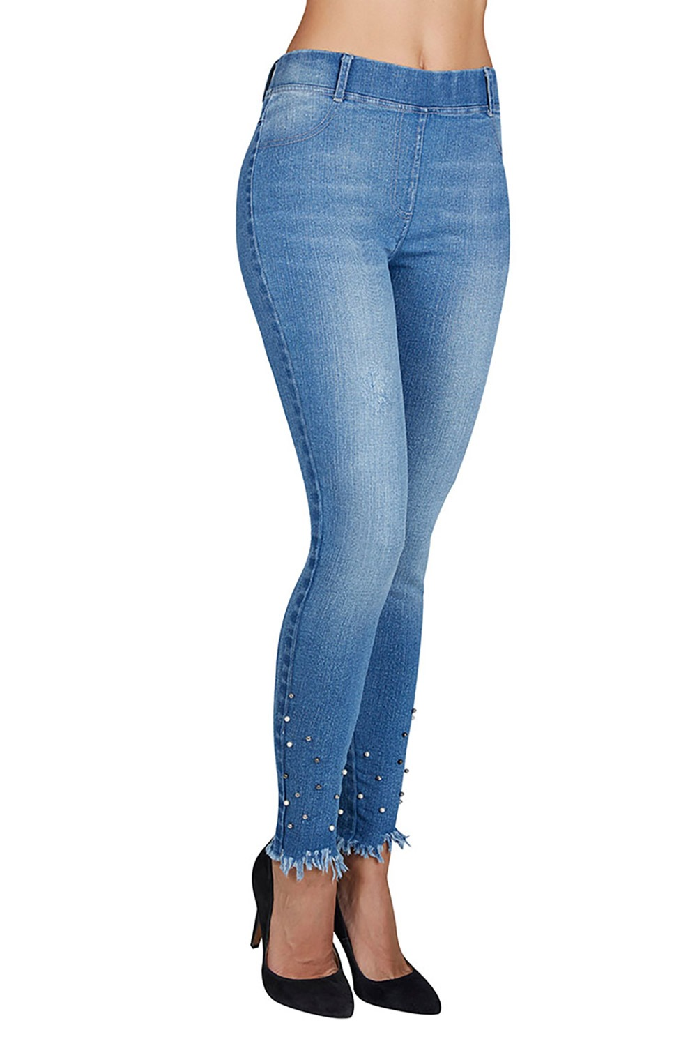 Colant tip jeans Reyna cu efect Push-Up