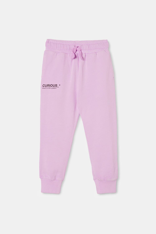 Pantalon de trening fetițe Violet