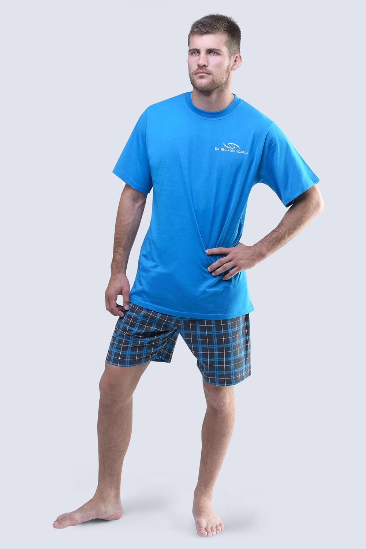 Pijama barbateasca Blacksword, albastru