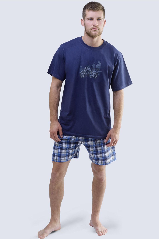 Pijama barbateasca Harley albastru