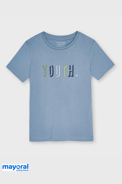 Tricou baieti Mayoral Youth, albastru