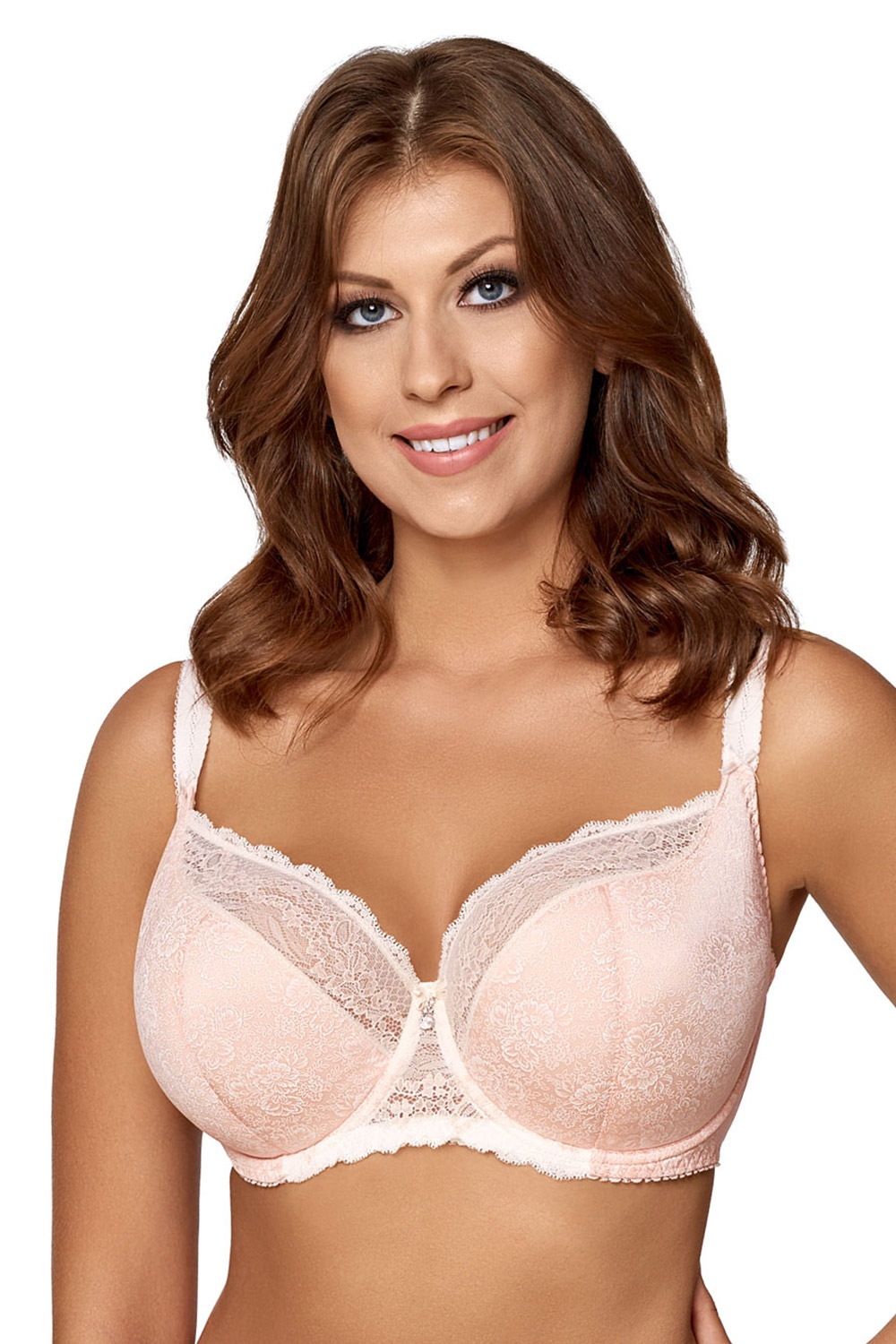 Sutien Light Rose semi-intarit de la Avalingerie