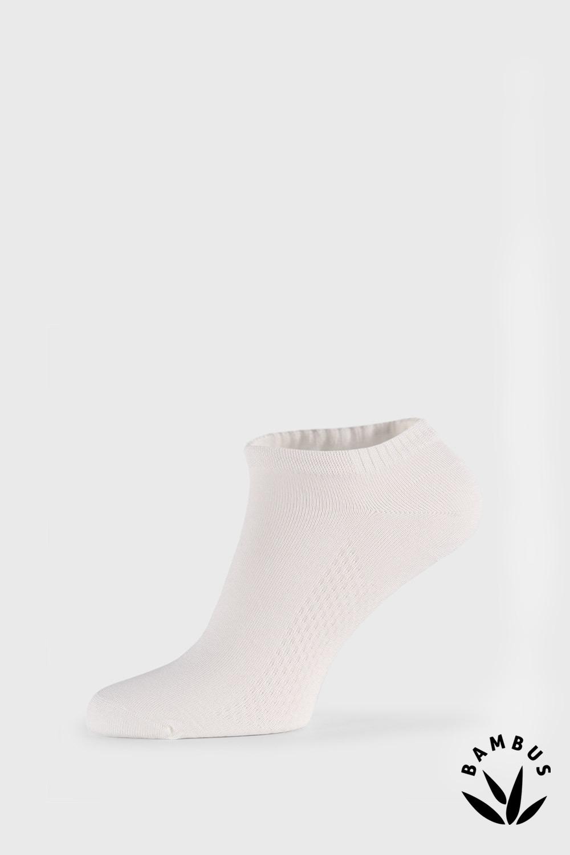 Sosete Bellinda Air, alb, fibre de bambus