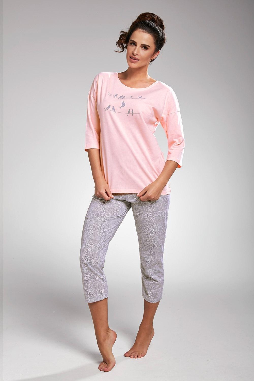 Pijama dama Birds roz