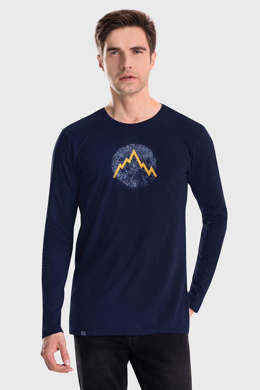 Bluza LOAP Albert, albastru