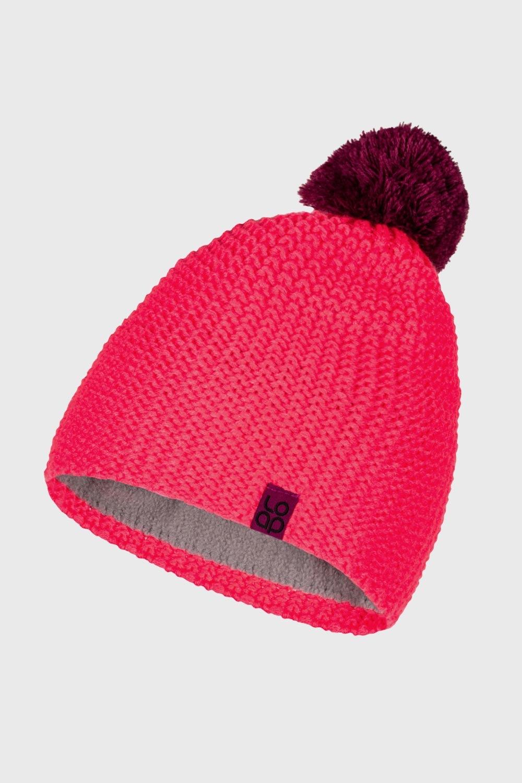 Caciula de iarna LOAP Zalo, roz