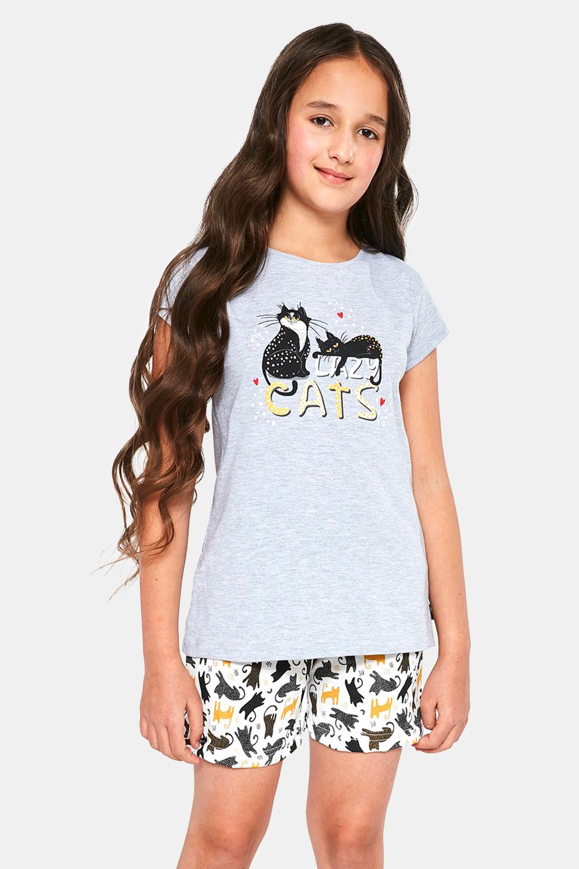 Pijamale pentru fete Cats