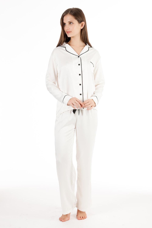 Pijama satinata de lux Claudia