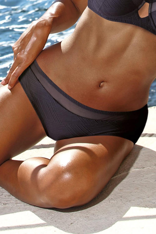 Slip costum de baie curves Seychelles Black