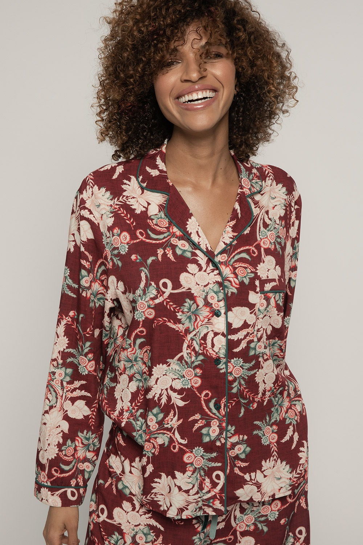 Camasa de pijama Muriel de la Dorina