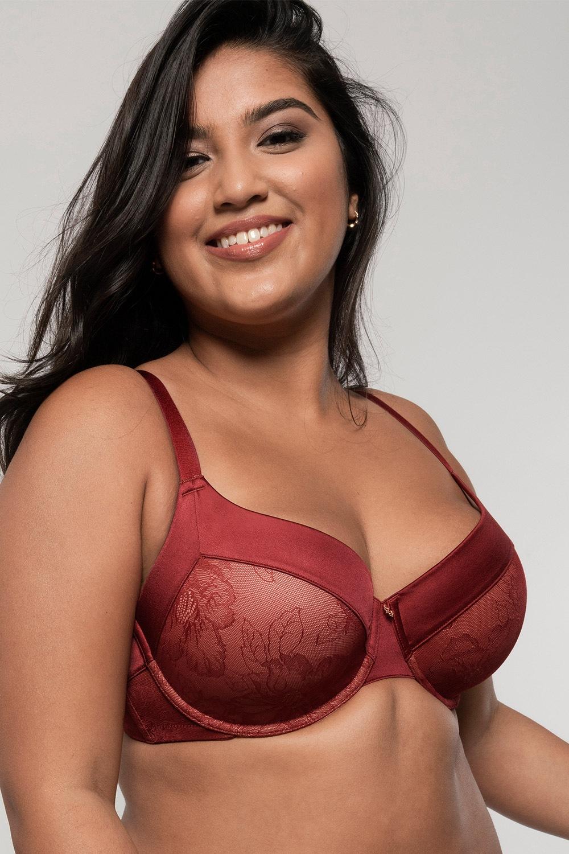 Sutien Alissa Red intarit