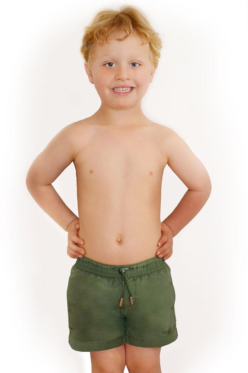 Costum de baie baietei Leonard Salvia