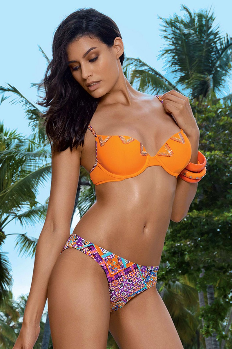 Sutien costum de baie Selena Push-Up