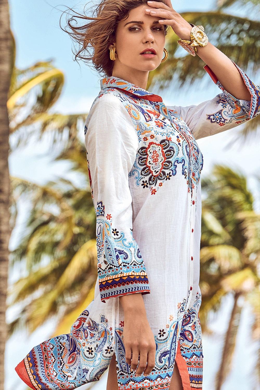Rochie de vara tip camasa David Beachwear Jaipur