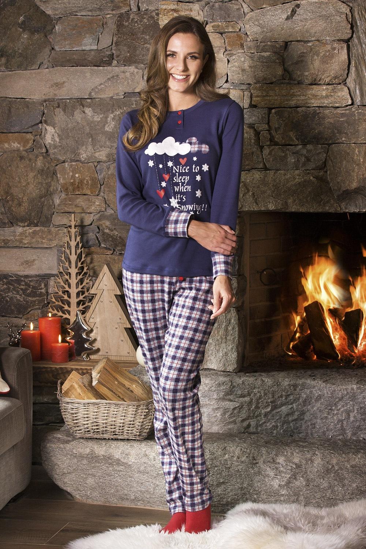 Pijama dama Snowing