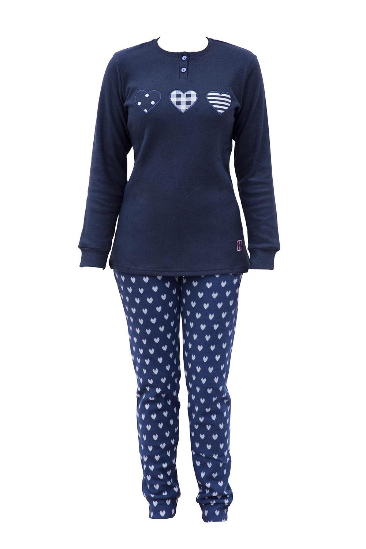 Pijama calduroasa Belen de la COTONELLA