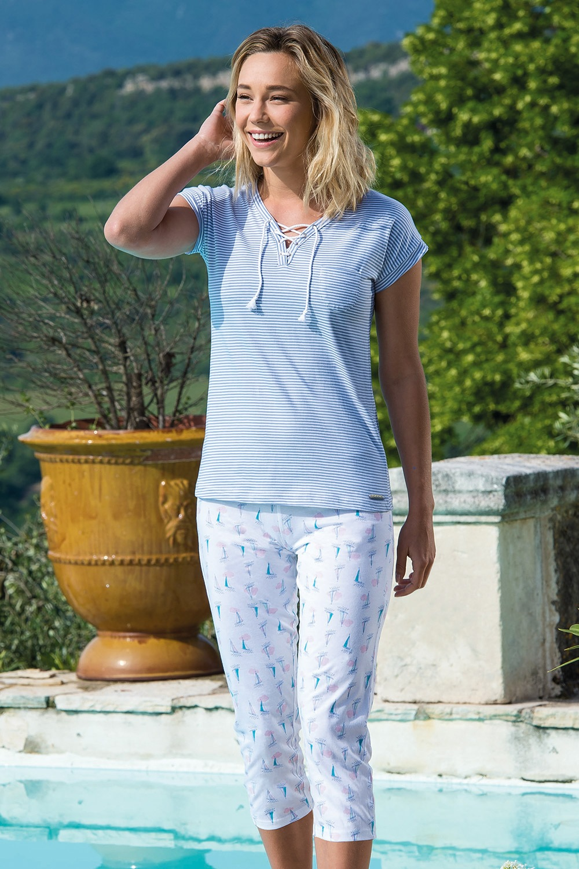 Pijama dama Voiliers