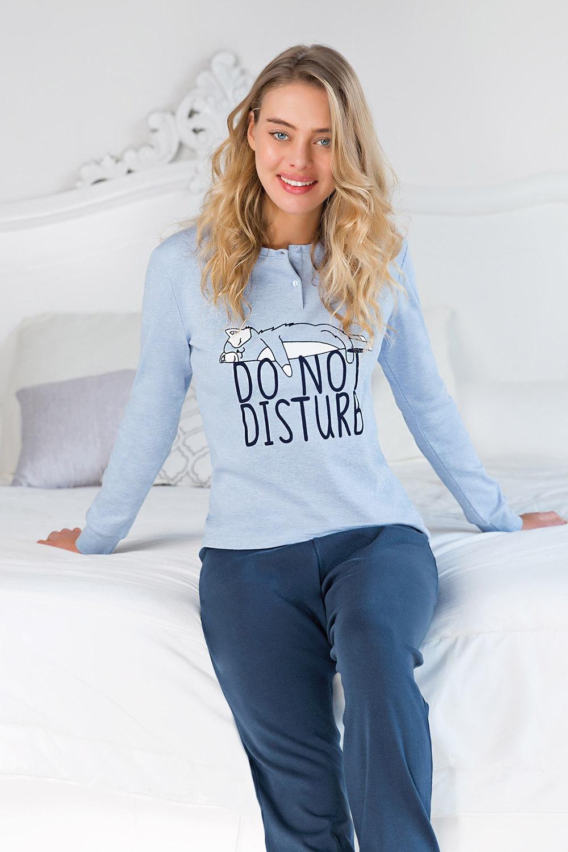 Pijama dama Do not disturb de la Coveri