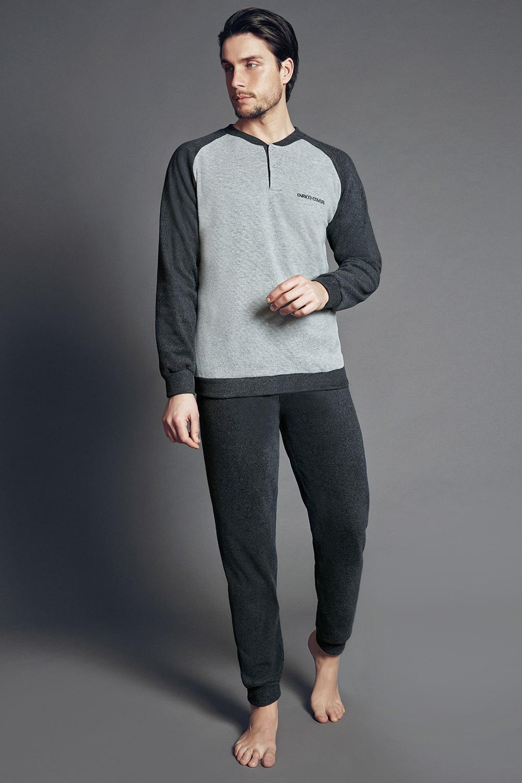 Set haine de casa pentru barbati Edoardo Antracit