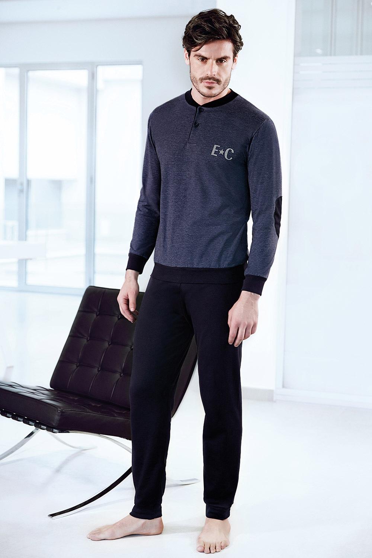 Set haine de casa pentru barbati ENRICO COVERI Adriano jeans