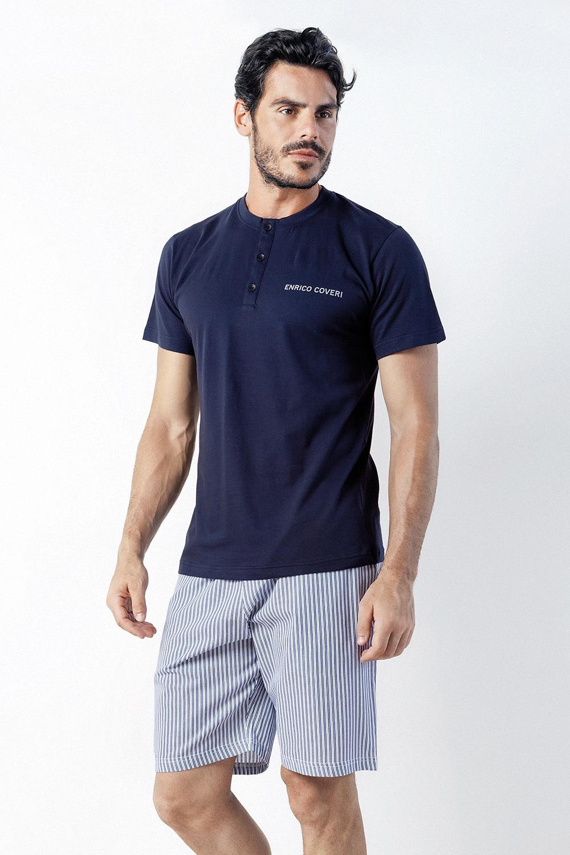 Pijama barbateasca Romeo, scurt
