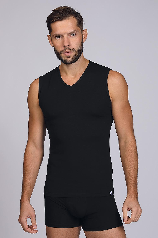 Tricou fără mâneci, negru