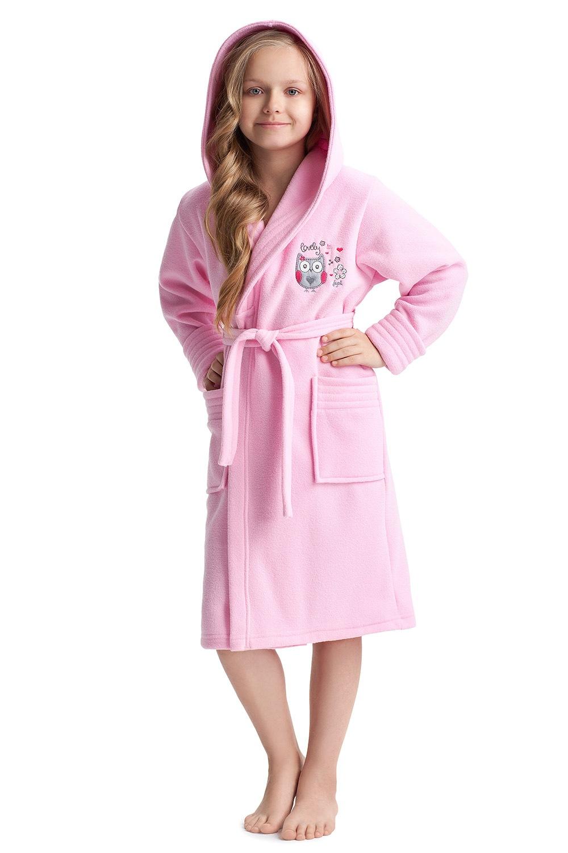 Halat de baie fetite Lovely Pink