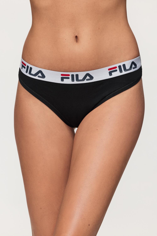 Chilot dama FILA Underwear String, negru