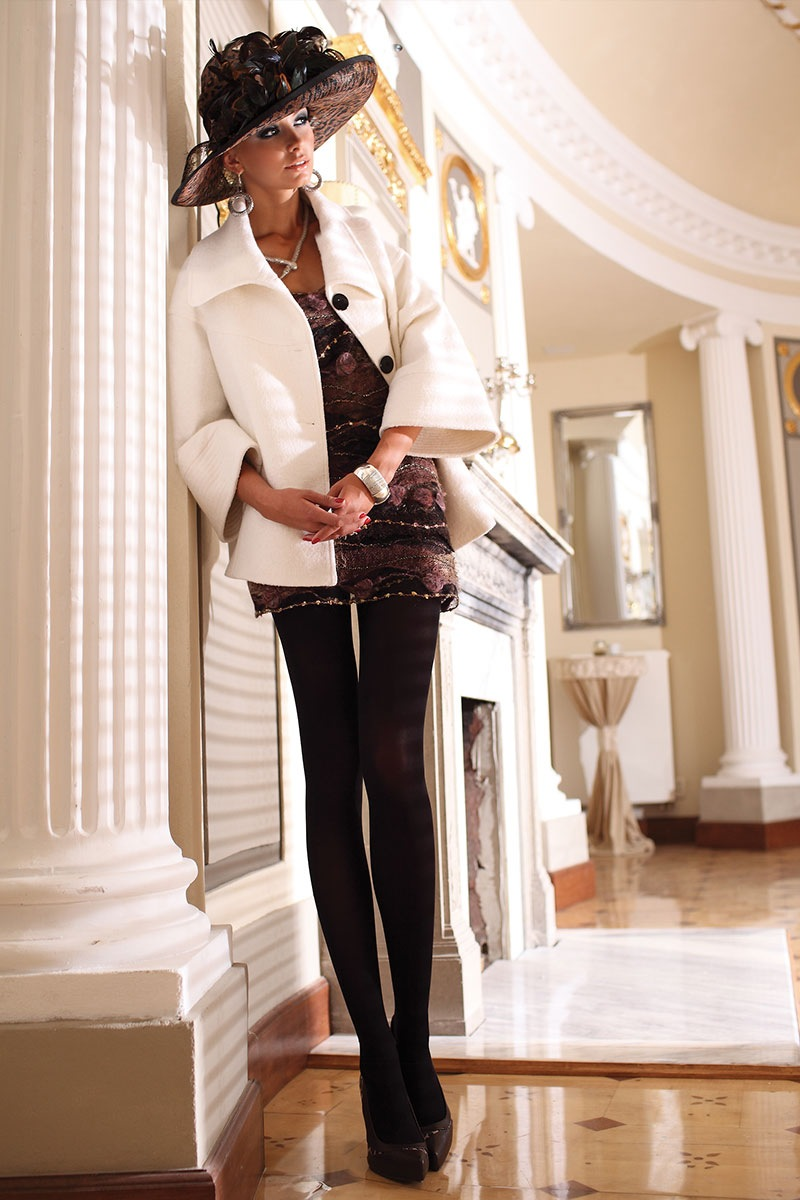 Dres elegant Glamour Soft Black