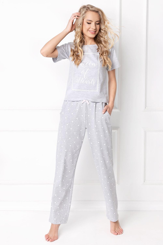 Pijama dama Hearty, lunga de la Aruelle