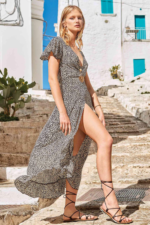 Rochie de plaja Carla