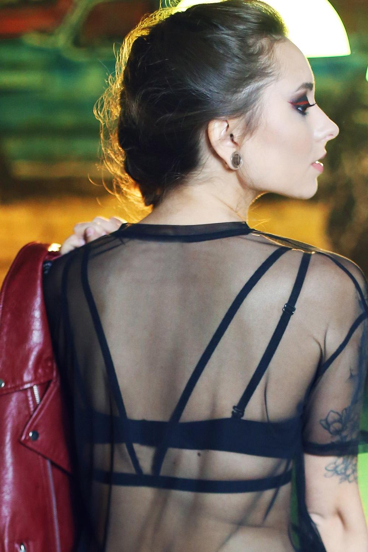 Bretele decorative partea din spate Katie