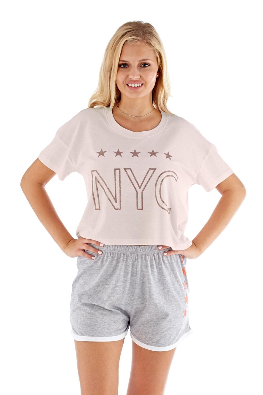 Pijama dama NYC roz
