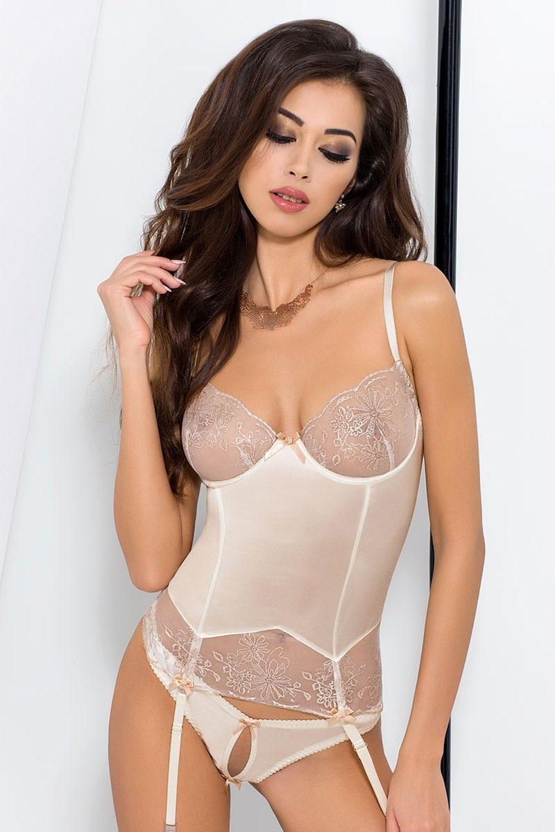 Corset seducator Lotus Cream