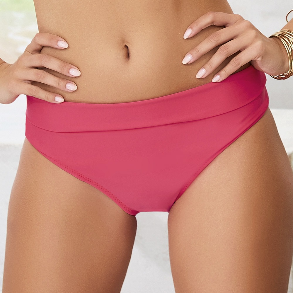 Slip costum de baie 2in1 Whitney White