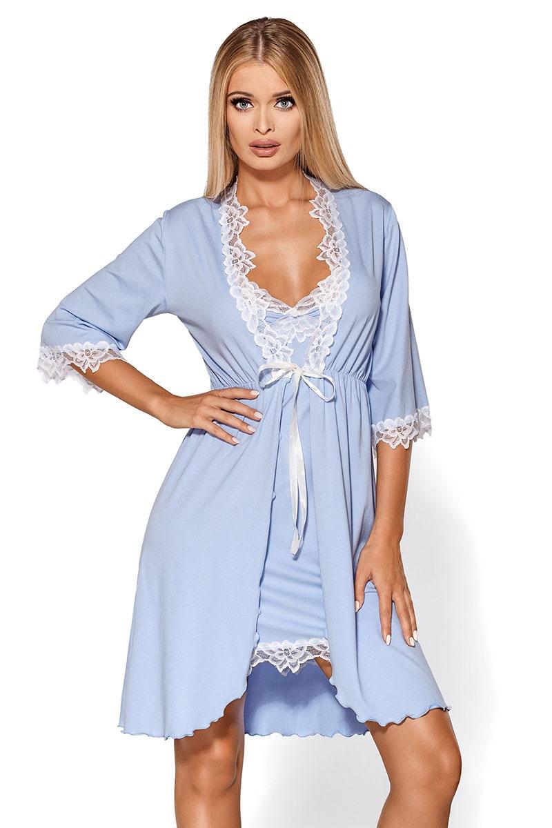 Capot elegant Madlen blue