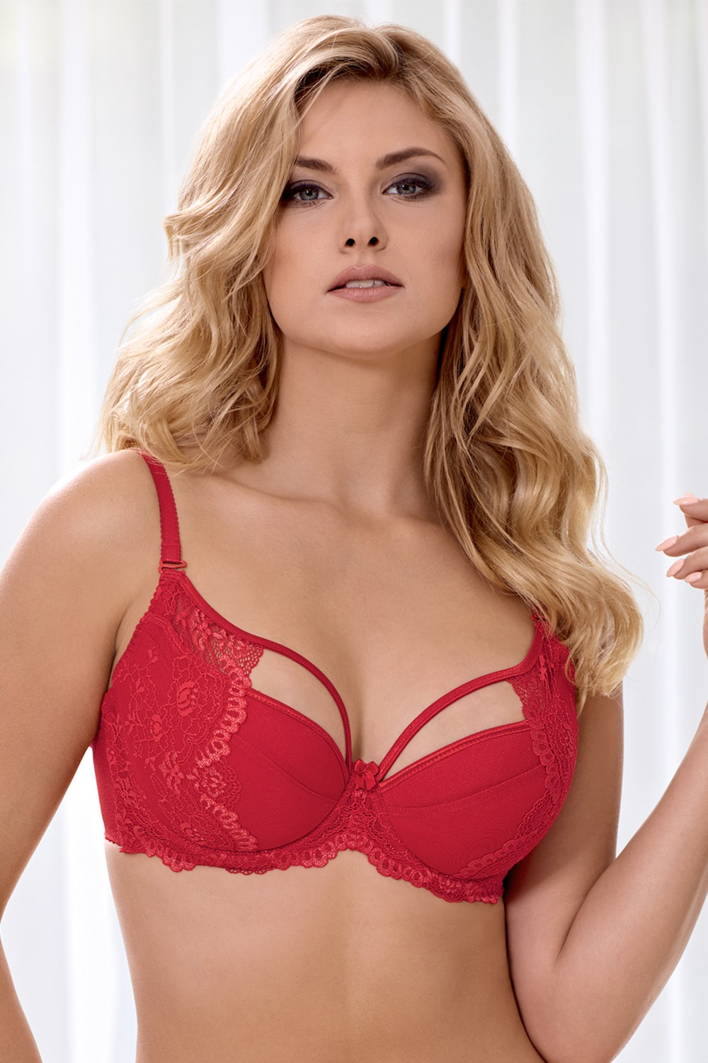 Sutien Marella Red Push-Up