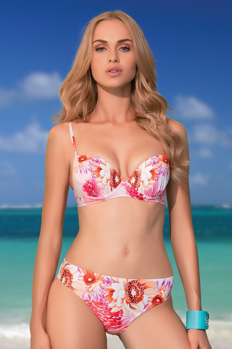 Sutien costum de baie April Push-Up