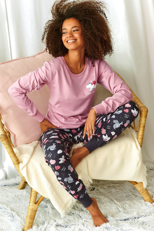 Pijama dama Sonya, roz